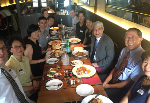 Lunch with the Yale Club of Singapore, March 14